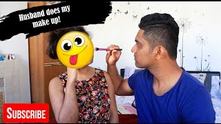 Download My Husband Does My Makeup Challenge! Video