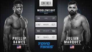 Download FREE FIGHT | Marquez Lands Devastating Head Kick | DWTNCS Week 4 Contract Winner Video