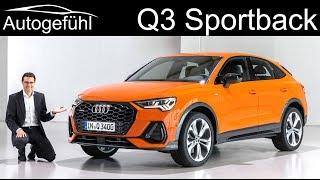 Download First ever Audi Q3 Sportback REVIEW Exterior Interior - Autogefühl Video