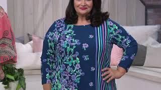 Download Bob Mackie Cotton Ponte Pedal Pushers Pull-On Pants on QVC Video
