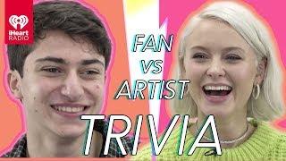 Download Zara Larsson Goes Head To Head With A Fan | Fan Vs. Artist Trivia Video
