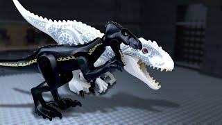 Download LEGO Jurassic World 🔴 Indoraptor vs Indominus Rex -9 (Freedom) Video