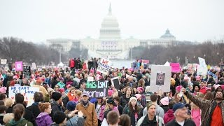 Download Highlights from the Women's March on Washington Video