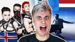 Download REACTING TO EUROVISION 2019 - Netherlands, Iceland, Russia, Sweden, Estonia, etc Video