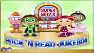 Download New SUPERWHY'S ROCK'N READ JUKEBOX - Top Baby Games For Kids 2016 Video