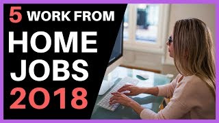 Download 5 WORK FROM HOME JOBS 2018 - $400 PER DAY Video