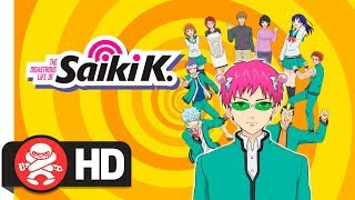 Download The Disastrous Life of Saiki k. Complete Season 1 - Official Trailer Video