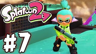 Download Splatoon 2 - Part 7 - Gatling Ink! (Gameplay Walkthrough Nintendo Switch) Video