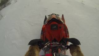 Download Polaris AXYS 800 Turbo over the handlebars - Code 1401 Exhaust valve issue. Video
