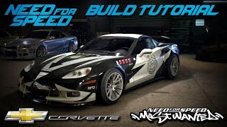 Download Need for Speed 2015 | Most Wanted Cross Chevrolet Corvette Build Tutorial | How To Make Video
