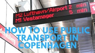 Download Moving around Copenhagen - How to use public transport in Copenhagen Video