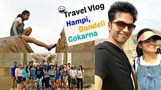 Download Hampi, Dandeli, Gokarna Trip Vlog -Part 1 || Meet my Husband :) Video