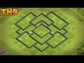 Download Aldea Ayuntamiento 9 Defensa | Diseño de Aldea TH9 Defensa | 2017 Video