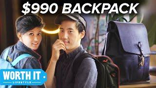 Download $36 Backpack Vs. $990 Backpack Video
