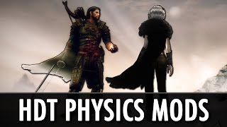 Download Skyrim Mods: HDT Physics - Cloaks, Gear, Hair, Tentacles Video