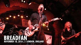 Download Metallica: Breadfan (MetOnTour - House of Vans London - 2016) Video