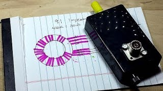 Download How to make a 9 to 1 autotransformer (UnUn) Video