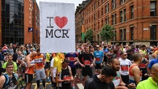 Download Thousands turn out for Manchester memorial run Video