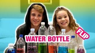 Download Water Bottle Flip Challenge! (MattyBRaps vs Sierra Haschak) Video