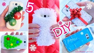 Download 5 DIY Winter Phone Cases – How To Make Cute Phone Cases For Winter Video