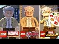 STAN LEE Evolution in LEGO Marvel Videogames (2013 - 2017) - RIP Stan Lee.