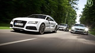 Download AutoPilot Audi vs BMW vs Mercedes (Remote controle Parking ) Video
