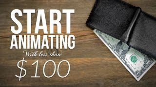 Download Start Animating Now with Less than a $100 Video