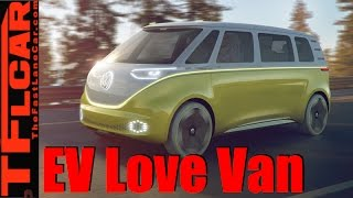 Download Volkswagen ID Buzz Concept: All-Electric AWD Autonomous Microbus Video
