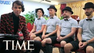 Download Stromae Sings 'Tous Les Mêmes' Live Acapella, Takes On America   TIME Video