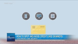 Download How to spot and avoid credit card skimmers Video