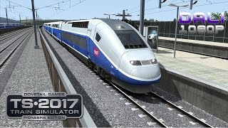Download Train Simulator 2017: Pioneers Edition LGV: Marseille - Avignon PC Gameplay 1080p 60fps Video