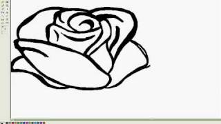 Download How to draw a rose Video
