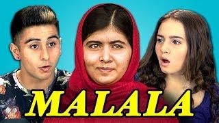 Download Teens React to Malala Yousafzai Video