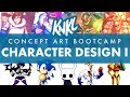 Download Concept Art BOOT CAMP 7: Character Design I (3 Keys to a successful character!) Video