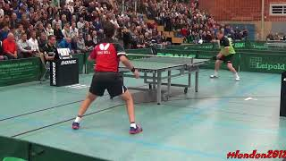Download Timo Boll vs Jan-Ove Waldner (2017 Leipold Super Cup) Video