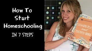 Download How to Start Homeschooling from Scratch in 7 Steps Video