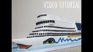 Download Tutorial Aida Cruise Ship Cake Video