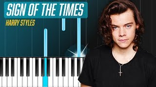 Download Harry Styles - ″Sign Of The Times″ Piano Tutorial - Chords - How To Play - Cover Video
