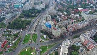 Download Bucharest at 200m altitude shot with dji phantom 3 advanced - bucur obor Video