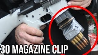 Download 30 Caliber Magazine Clip in a Half Second! (With the world's FASTEST shooter, Jerry Miculek) Video