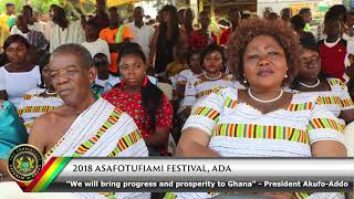 Download 2018 Asafotufiami Festival of Ada Video