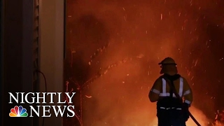 Download Southern Wildfires: 5,000 Firefighters Battling Blazes | NBC Nightly News Video