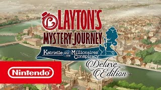 Download LAYTON'S MYSTERY JOURNEY - Launch trailer (Nintendo Switch) Video
