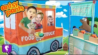 Download FOOD TRUCK! ANTSY PANTS Build and Play with HobbyDad Video