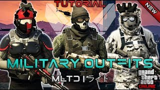 Download *NEW* TOP 3 MILITARY OUTFITS | DOOMSDAY HEIST 1.42 | GTA Online | Military outfits Video
