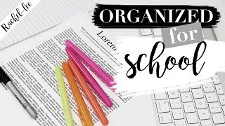 Download How To Organize Your Life For Back To School Video