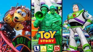 Download Top 10 New Toy Story Land Rides & Attractions! Disney World Video