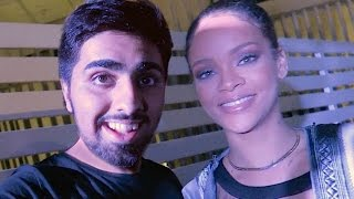 Download Meeting RIHANNA !!! Video