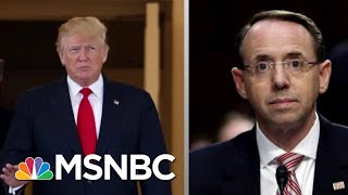 Download Lawrence On President Donald Trump And Rod Rosenstein's 'Strangest' Meeting   The Last Word   MSNBC Video