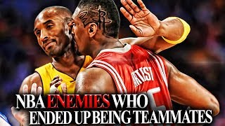 Download 6 Pairs Of NBA Players That HATED Each Other AND THEN Became TEAMMATES! NBA BEEFS!! Video